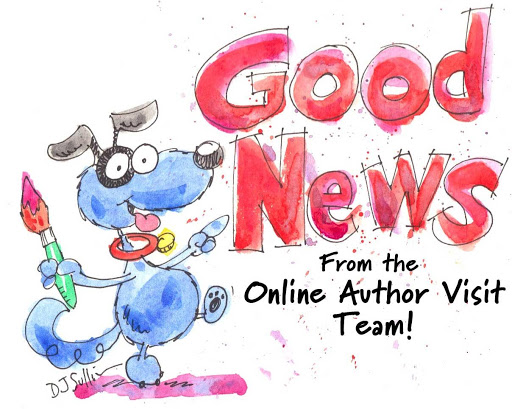 Good News from the Online Author Visits Team
