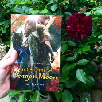 dragon moon in garden fan pic